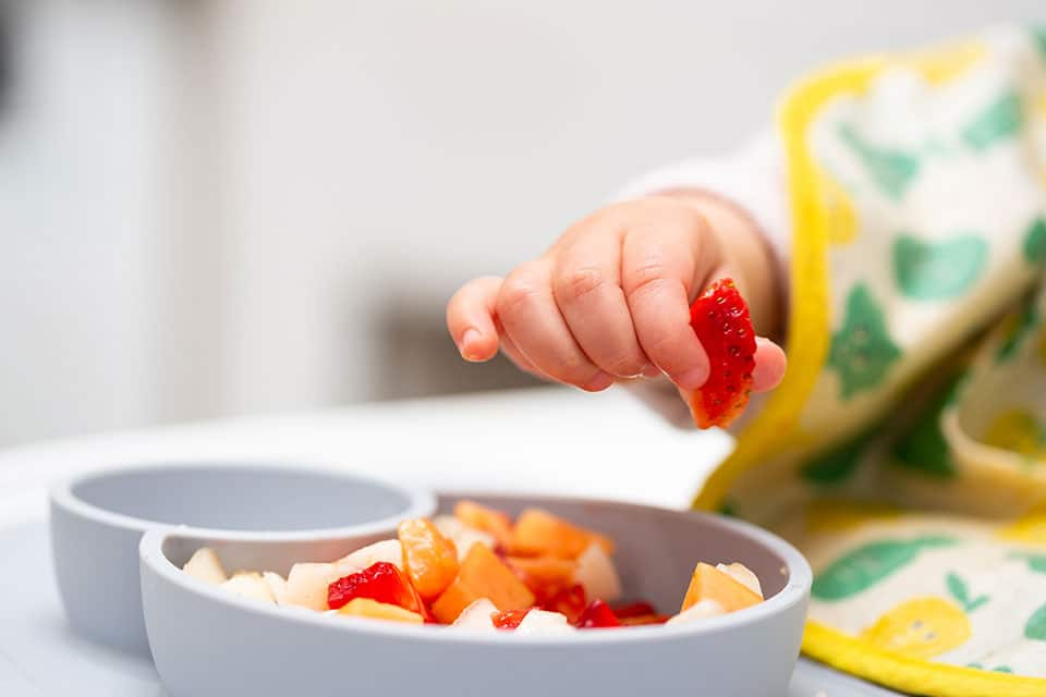 Diversifier bébé en autonomie-Madame Miam